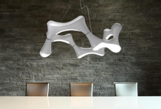 Du style avec un lustre design dans son salon