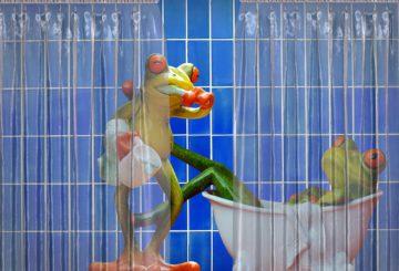 Partager une salle de bain : les problèmes et les solutions