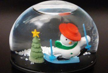 Une boule à neige fait maison