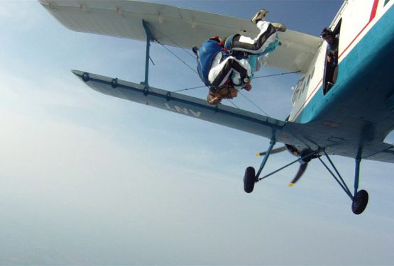 Pari gagné : j'ai fait mon premier saut en parachute à Dijon !