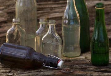 Des idées pour recycler les bouteilles en verre