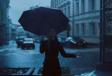Un mini parapluie, c'est bien pratique !